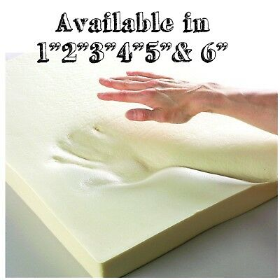 "100 % Orthopeadic Memory Foam Mattress Topper Available in 1"",2"",3"",4"",5"" and 6"""