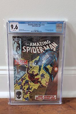 Amazing Spider-Man 265 - 1st Silver Sable - CGC 9.6 (NM+) - W Pg - FREE SHIPPING