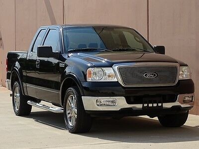 2005 Ford F-150 Lariat Extended Cab Pickup 4-Door 2005 FORD F150 LARIAT EXTENDED CAB 2WD 1 OWNER ACCIDENT FREE TX TRUCK-LOW MILES