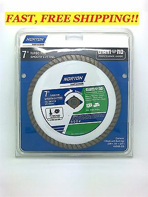 "NEW! NORTON 7"" Turbo Rim General Purpose SAW BLADE ~ DIAMOND PROFESSIONAL GRADE"