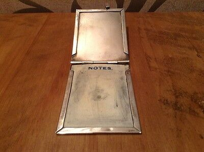 Solid Silver Aide De Memoire Fully Hall Marked. C. 1916.