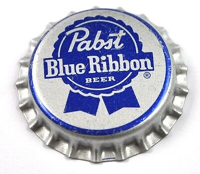 Pabst Blue Ribbon Beer Bier Kronkorken USA Bottle Cap Plastikdichtung
