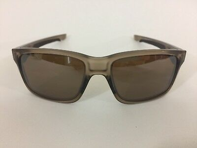 Oakley Sunglasses OO9264-06 Polarized Men Brown Clear Mirrored Lenses