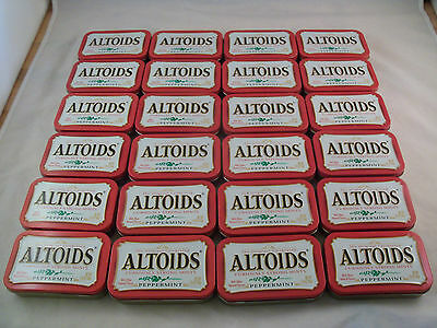 Altoid Tins Empty Lot Of 24 For Storage Arts And Crafts