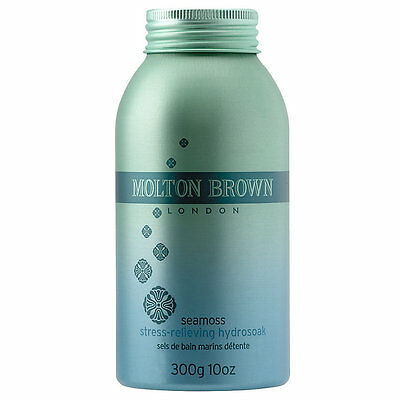 Molton Brown Seamoss Stress Relieving Hydrosoak / Bath Salts 300g - BRAND NEW