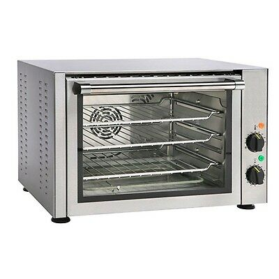Equipex FC-34/1 Quarter-Size Countertop Convection Oven, 120v