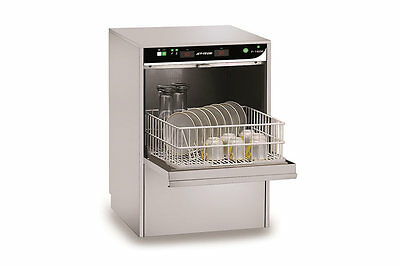 Jet Tech F-16DP Compact HIGH-temp Undercounter Commercial Dishwasher 24 Racks/hr