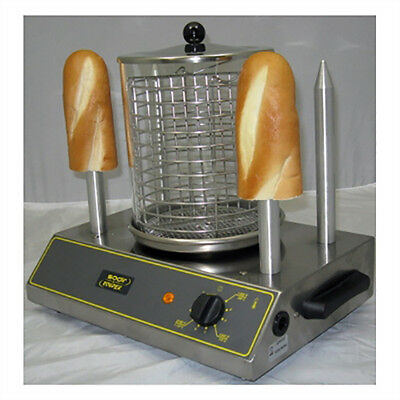 Equipex CS4E Hot Dog Steamer w/ 40-Hot Dog Capacity & 4-Toasting Spikes, 120v