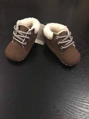 Next Baby Boy Bootees Size 0