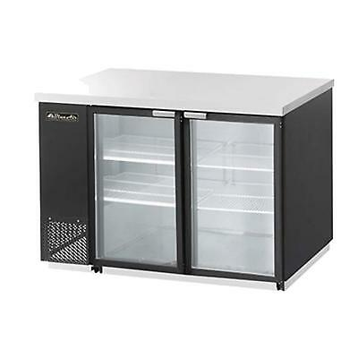 Blue Air Commercial Refrigeration BBB59-2BG Back Bar Cooler Refrigerated Cabinet