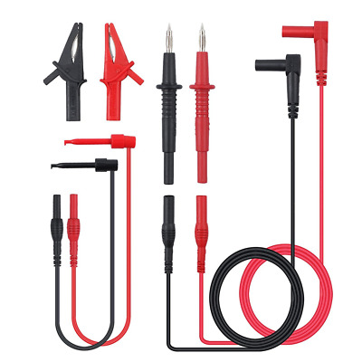 Neoteck 8-Pieces Multimeter Test Lead Kit Professional Electronic Test Lead Acce