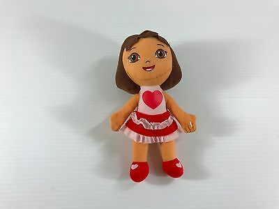 Dora the Explorer plush doll, small Dora the Explorer, small stuffed Dora, EUC