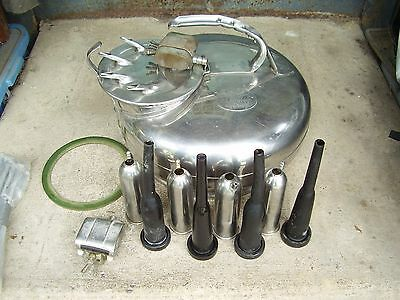 Surge Milker Bucket Complete With New Surge Inflations