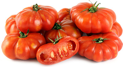 Red Ruffled Tomato- ROSSO SICILIAN TOGETA -10/20/50/100 Heirloom Vegetable Seeds