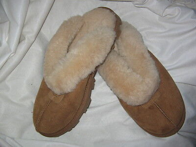 Women's Shoes UGG Coquette Sheepskin Slippers 5125 Chestnut size 7, BRAND NEW