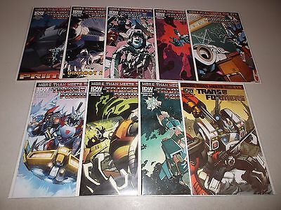 Transformers: More Than Meets the Eye #1-8 + Annual (2112 IDW series)   lot set