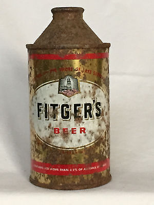Fitger's cone top beer can)