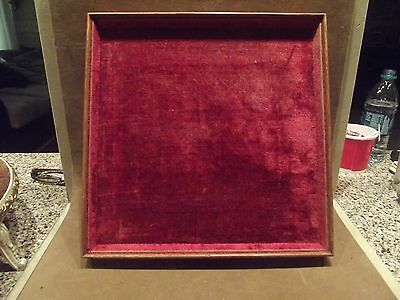 Vtg Jewelry Display Tray ~ Approx. 11 3/4 Inches Square