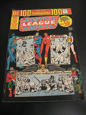 Look!---> JUSTICE LEAGUE 100 PG DC-17 1973 (VF) or (VF/VF+) **Crisp & Glossy!**