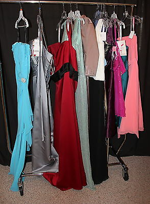 NWT Lot of 12 PLUS SIZE short and LONG formal gowns, prom, maids, mothers dress