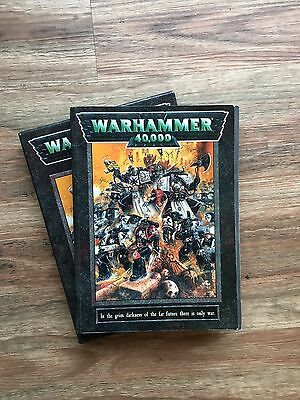 Warhammer 40k Rule book