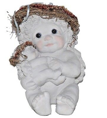 Dreamsicles Cherubs Cast Art Angels Nursery Rhyme Mom And Baby Signed Kristin