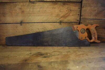 Vintage Spear & Jackson 22 Inch 88 Panel Saw Woodworking Old Tool