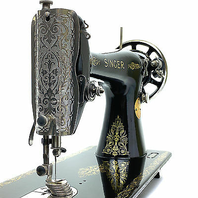 1927 SINGER 66k Vintage Sewing Machine Fully Serviced & Restored by 3FTERS