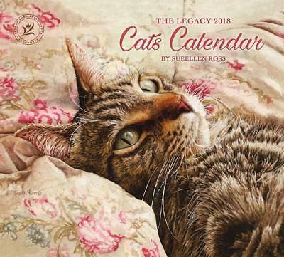 2018 Lang / Legacy Calendar CATS New Wall Calender Fits Wall Frame FREE POSTAGE