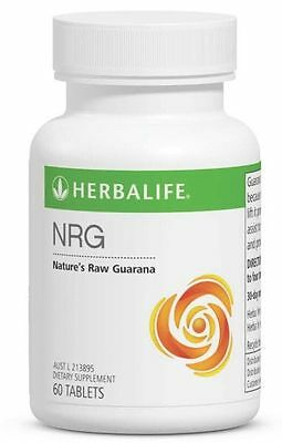 Herbalife NRG x 2 bottles 60 Tablets Per Bottle NEW AUSTRALIAN STOCK