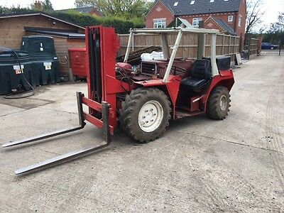 Manitou Buggy Forklift 4X4 4WD diesel rough terrain