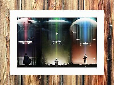 Star Wars Millennium Falcon Painting HD Print on Canvas Home Decor Wall Pictures