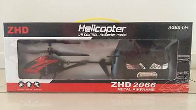 ZHD 2066 remote controlled helicopter Metal Airfarme 14+