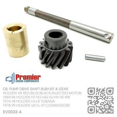 Oil Pump Shaft Bush Gear 4.2L & 5.0L V8 Motor [Holden Vb-Vc-Vh-Vk-Vl Commodore]