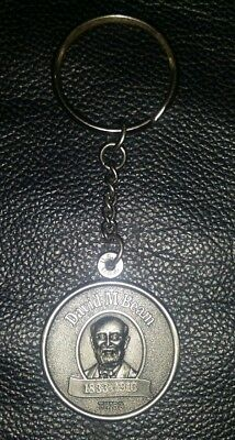 Rare Collectable Jim Beam Six Generations Of Distillers Keyring 1833-1913 Third