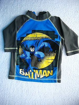 M & S Batman Baby Swimwear Wetsuit Top, 9-12 Months