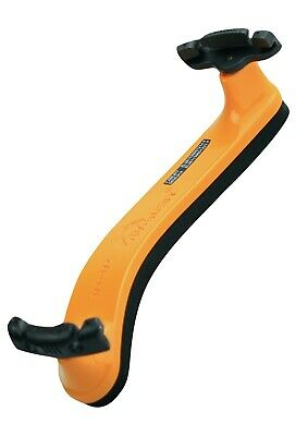 NEW 3/4 -1/2 size orange Everest violin shoulder rest spring collection ES model