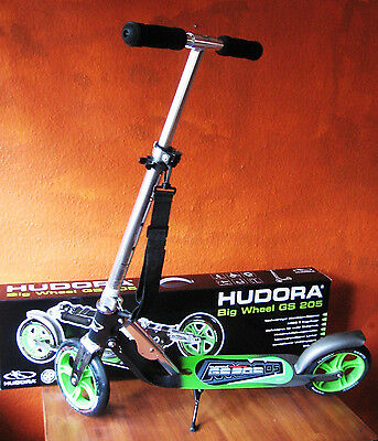 hudora scooter roller big wheel rx pro 205 schwarz rot gold eur 124 99 picclick de. Black Bedroom Furniture Sets. Home Design Ideas
