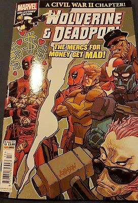 Wolverine & Deadpool Comic Book Series Issue  9Th August 2017