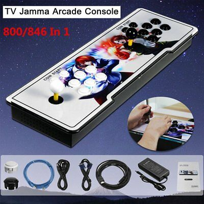 Pandora Box 4s Metal Home Multiplayer Arcade Console 800/846 Games All in 1 AU