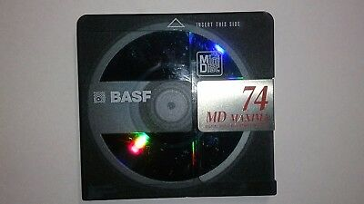 BASF Minidisc including case free delivery