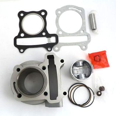 GY6 80cc Big Bore Kit Cylinder Head Piston Ring Performance Part Scooters Roketa