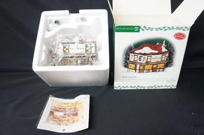 Dept 56 Heritage Dickens Village The Old Curiosity Shop Book Store 58482 (60)