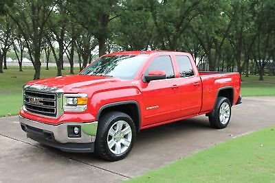 2014 GMC Sierra 1500 4WD Double Cab SLE One Owner Perfect Carfax Navigation 20's Heated Buckets Z71 MSRP New $45740