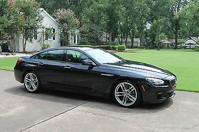 2014 BMW 6-Series 640i Gran Coupe M Sport Edition MSRP $90625 One Owner Perfect Carfax M Sport Edition MSRP New $90625