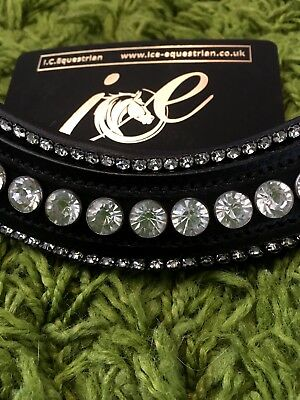 Luxury Bling Thick Padded Browband New Design