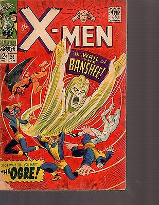 The X-Men #28 (Jan 1967, Marvel)