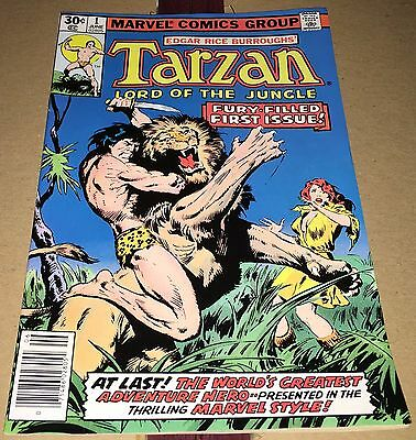 Tarzan #1 (Jun 1977, Marvel) FN+