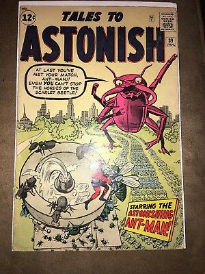 Tales to Astonish # 39     Early Ant-Man  1st Appearance the Scarlet Beetle