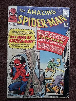 The Amazing Spider-Man #18 (Nov 1964, Marvel)